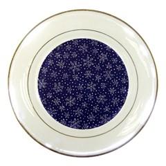 Pattern Circle Multi Color Porcelain Plates