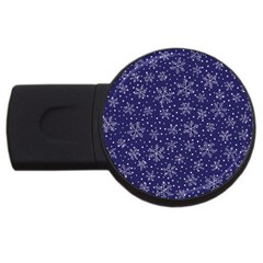 Pattern Circle Multi Color Usb Flash Drive Round (4 Gb)