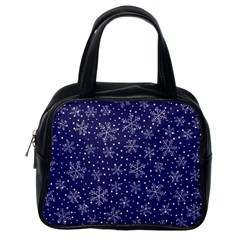 Pattern Circle Multi Color Classic Handbags (one Side)