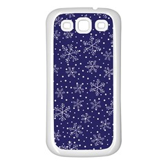 Pattern Circle Multi Color Samsung Galaxy S3 Back Case (white)