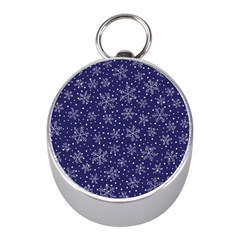 Pattern Circle Multi Color Mini Silver Compasses