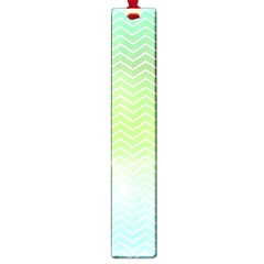 Green Line Zigzag Pattern Chevron Large Book Marks by Nexatart