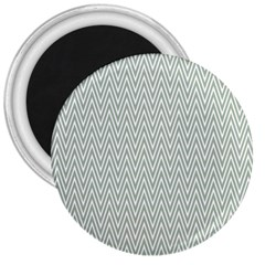 Vintage Pattern Chevron 3  Magnets