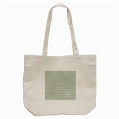 Vintage Pattern Chevron Tote Bag (cream) by Nexatart