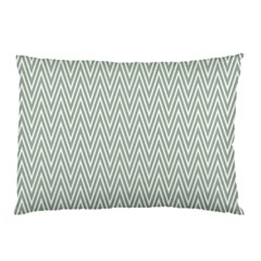 Vintage Pattern Chevron Pillow Case by Nexatart