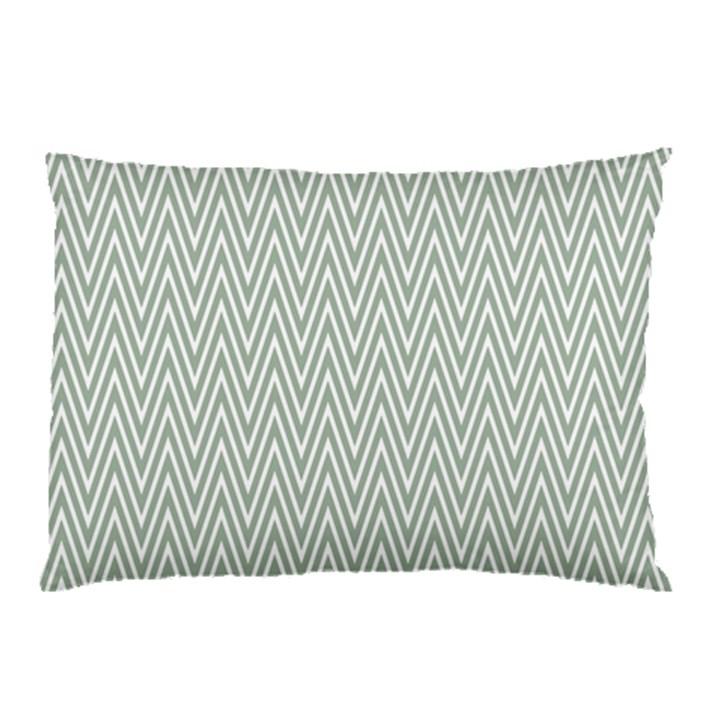 Vintage Pattern Chevron Pillow Case (Two Sides)