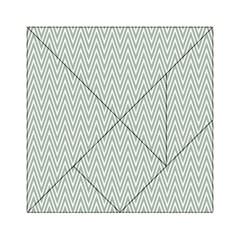 Vintage Pattern Chevron Acrylic Tangram Puzzle (6  X 6 )