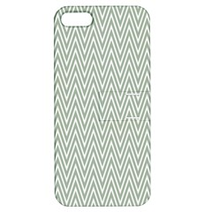 Vintage Pattern Chevron Apple Iphone 5 Hardshell Case With Stand