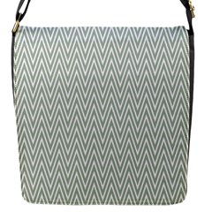 Vintage Pattern Chevron Flap Messenger Bag (s)