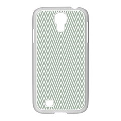 Vintage Pattern Chevron Samsung Galaxy S4 I9500/ I9505 Case (white)