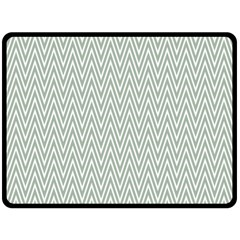 Vintage Pattern Chevron Double Sided Fleece Blanket (large)  by Nexatart
