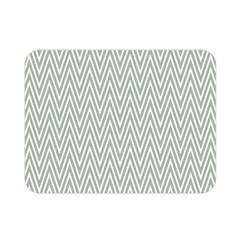 Vintage Pattern Chevron Double Sided Flano Blanket (mini)