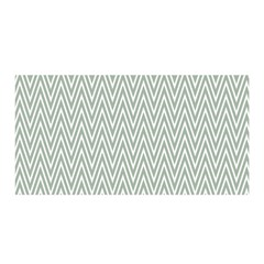 Vintage Pattern Chevron Satin Wrap