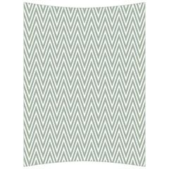 Vintage Pattern Chevron Back Support Cushion by Nexatart