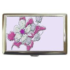 Bouquet Flowers Plant Purple Cigarette Money Cases