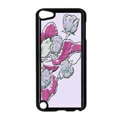 Bouquet Flowers Plant Purple Apple Ipod Touch 5 Case (black)