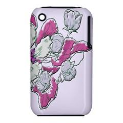 Bouquet Flowers Plant Purple Iphone 3s/3gs