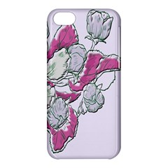 Bouquet Flowers Plant Purple Apple Iphone 5c Hardshell Case by Nexatart