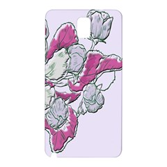 Bouquet Flowers Plant Purple Samsung Galaxy Note 3 N9005 Hardshell Back Case by Nexatart