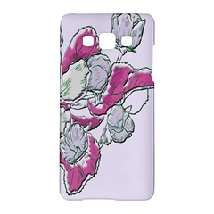 Bouquet Flowers Plant Purple Samsung Galaxy A5 Hardshell Case