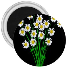 Bouquet Geese Flower Plant Blossom 3  Magnets by Nexatart
