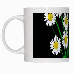 Bouquet Geese Flower Plant Blossom White Mugs