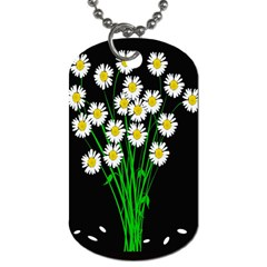 Bouquet Geese Flower Plant Blossom Dog Tag (one Side)