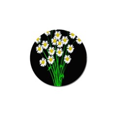 Bouquet Geese Flower Plant Blossom Golf Ball Marker (4 Pack)