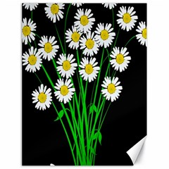 Bouquet Geese Flower Plant Blossom Canvas 18  X 24