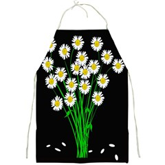 Bouquet Geese Flower Plant Blossom Full Print Aprons by Nexatart