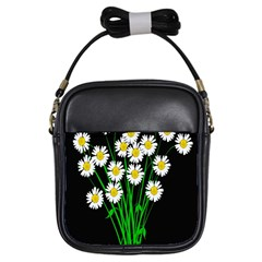 Bouquet Geese Flower Plant Blossom Girls Sling Bags by Nexatart