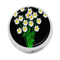 Bouquet Geese Flower Plant Blossom 4 Port Usb Hub (two Sides)  by Nexatart