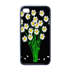 Bouquet Geese Flower Plant Blossom Apple Iphone 4 Case (black) by Nexatart