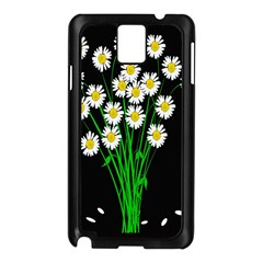 Bouquet Geese Flower Plant Blossom Samsung Galaxy Note 3 N9005 Case (black)