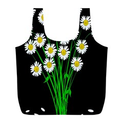 Bouquet Geese Flower Plant Blossom Full Print Recycle Bags (l)  by Nexatart