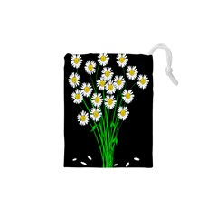 Bouquet Geese Flower Plant Blossom Drawstring Pouches (xs)  by Nexatart