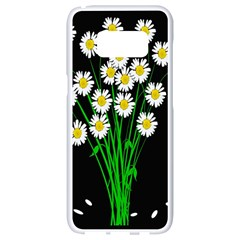 Bouquet Geese Flower Plant Blossom Samsung Galaxy S8 White Seamless Case
