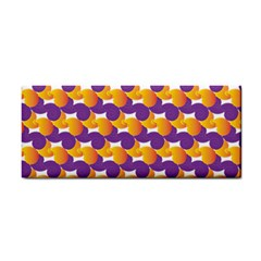 Pattern Background Purple Yellow Cosmetic Storage Cases