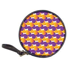 Pattern Background Purple Yellow Classic 20 Cd Wallets