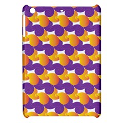 Pattern Background Purple Yellow Apple Ipad Mini Hardshell Case by Nexatart