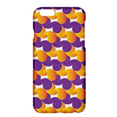 Pattern Background Purple Yellow Apple Iphone 6 Plus/6s Plus Hardshell Case by Nexatart