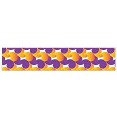 Pattern Background Purple Yellow Flano Scarf (small) by Nexatart