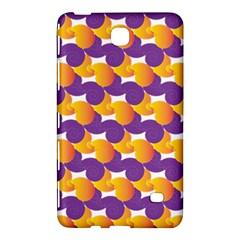 Pattern Background Purple Yellow Samsung Galaxy Tab 4 (8 ) Hardshell Case