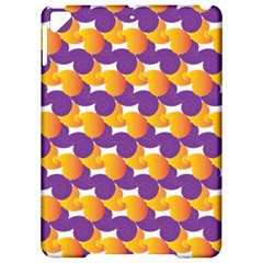 Pattern Background Purple Yellow Apple Ipad Pro 9 7   Hardshell Case