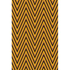 Chevron Brown Retro Vintage 5 5  X 8 5  Notebooks by Nexatart