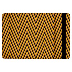 Chevron Brown Retro Vintage Ipad Air Flip
