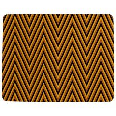 Chevron Brown Retro Vintage Jigsaw Puzzle Photo Stand (rectangular)