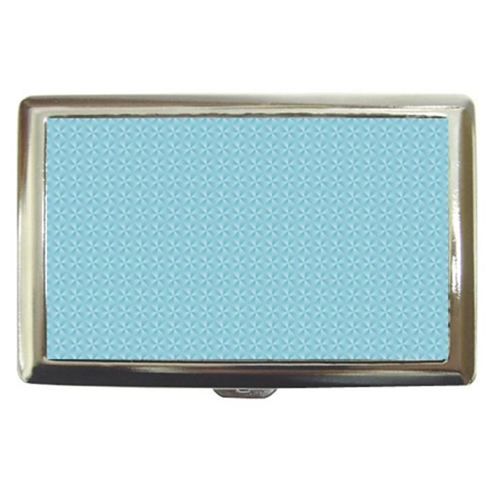 Blue Pattern Background Texture Cigarette Money Cases