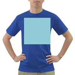 Blue Pattern Background Texture Dark T Shirt