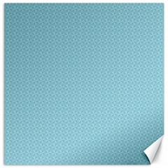 Blue Pattern Background Texture Canvas 16  X 16   by Nexatart